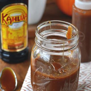 Kahlua Caramel Sauce.