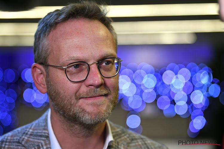 """Peter Croonen, président de la Pro League, a une pensée pour Waasland Beveren: """"Pas optimale comme descente"""""""