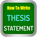 Thesis Statement icon