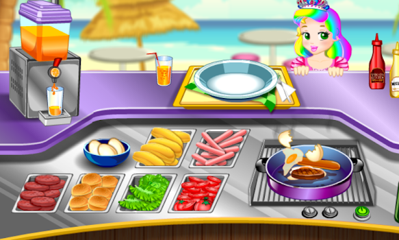 Princess Food Cooking