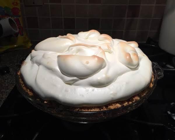 Key Lime Pie With Marshmallow Meringue Recipe