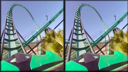 VR Thrills: Roller Coaster 360 (Google Cardboard) APK screenshot thumbnail 8