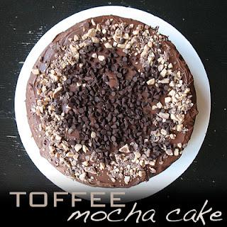 Toffee Mocha Cake
