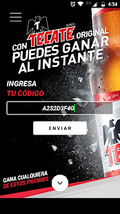 Tecate App- screenshot thumbnail