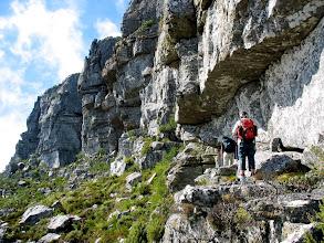 Photo: Along the Silverstream-Ledges traverse