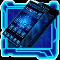 Futuristic Neon Technology icon