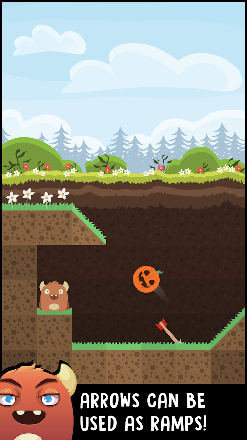 Hand Toss - Garden Defense- screenshot