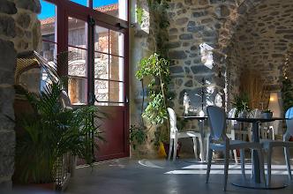 Foto: Détail de l'entrée du restaurant