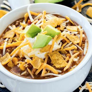 Instant Pot Taco Soup.