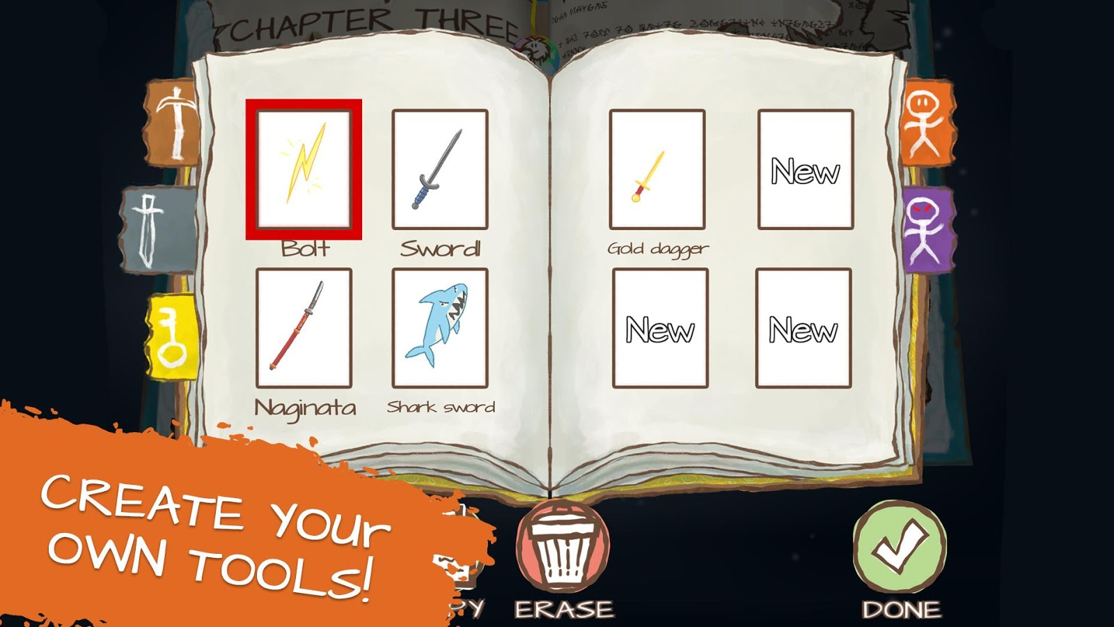 Draw A Stickman: Epic 2 Free Screenshot