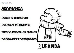 Photo: ADIVINANZA BUFANDA