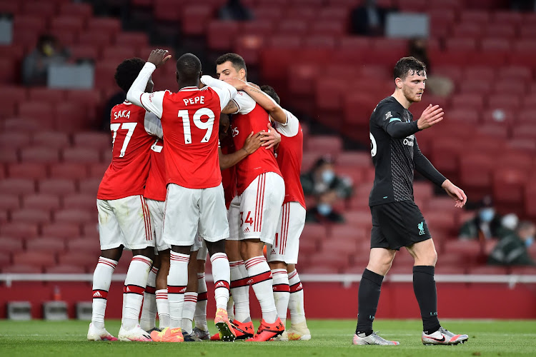 Arsenal prive Liverpool de la barre des 100 points en championnat !