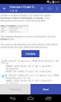 Screenshot of VCE Exam Simulator