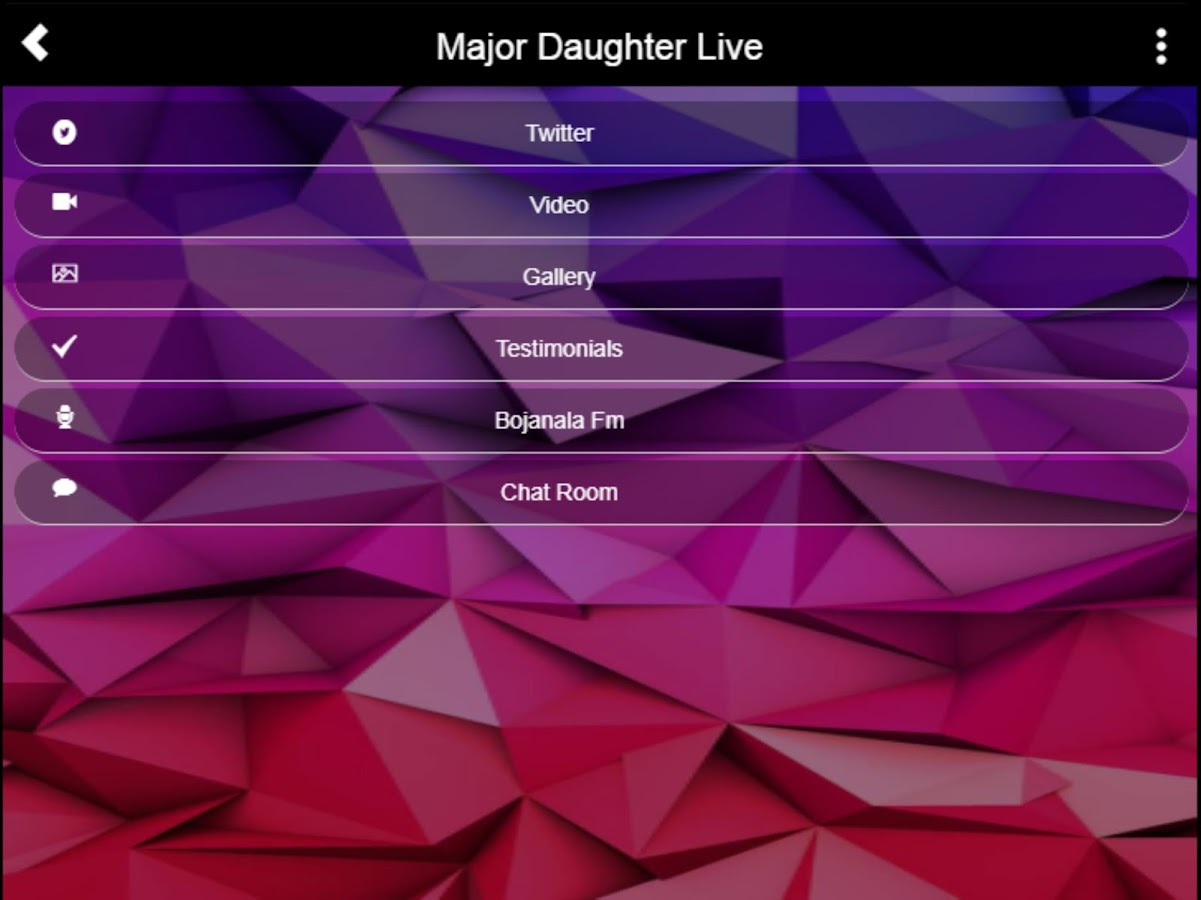 Major Daughter Live - Marriage and Couples Advice- screenshot