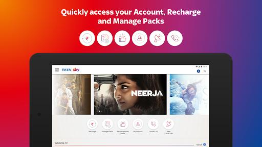 Tata Sky Mobile- Live TV, Movies, Sports, Recharge screenshots 23