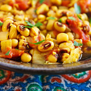 Black-Eyed Pea Masala Recipe
