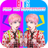 BTS Find the Differences Game Mod