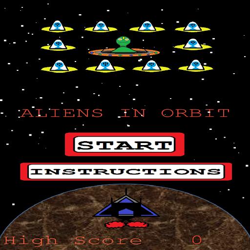 Aliens in Orbit Shooter Lite