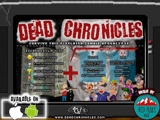 Dead Chronicles: retro pixelated zombie apocalypse 2.6.3 screenshots 15