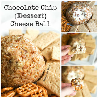 Chocolate Chip Cream Cheese Ball.