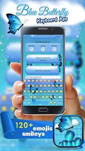 Blue Butterfly Keyboard App screenshot 1