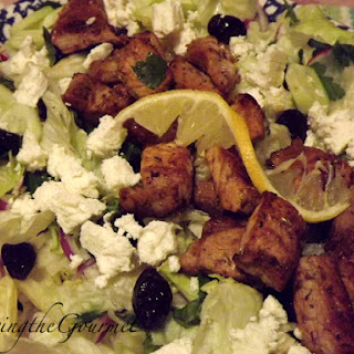 Pork Souvlaki and Greek Salad!!!
