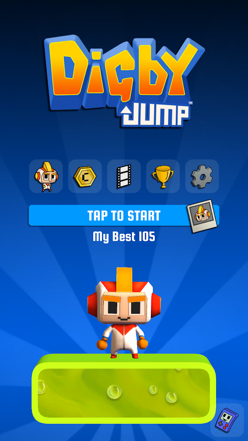 Digby Jump- screenshot