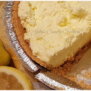 No Bake Lemon Pie.