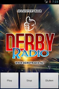 DerbyRadio.nl- screenshot thumbnail