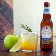 Angry Orchard 16oz, bottled cider (5.0% ABV)