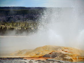 Photo: Now that's a real geyser