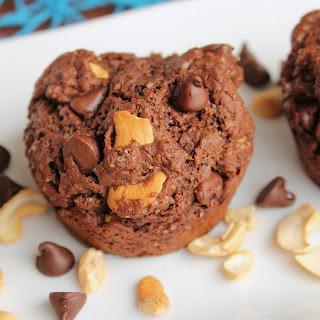 Chocolate Chip Cashew Muffins Recipe