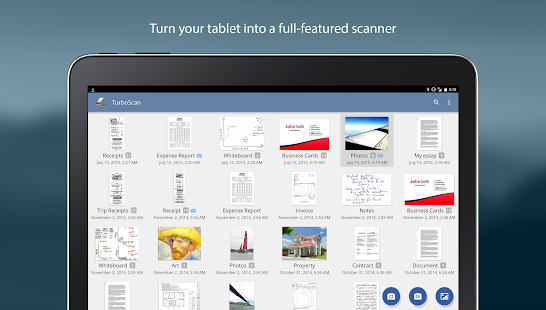 TurboScan: scan documents & receipts in PDF- screenshot thumbnail