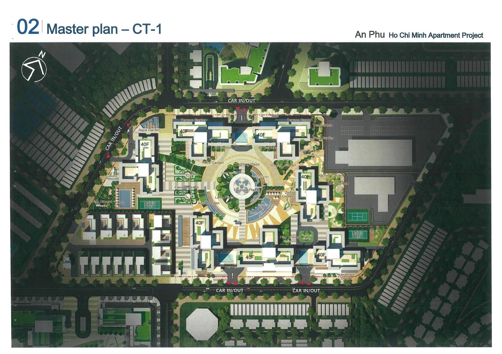 mặt bằng cụm CT1 dự án Laimian City