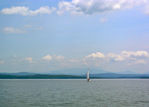 Photo: It was the most perfect day for biking! (and sailing).