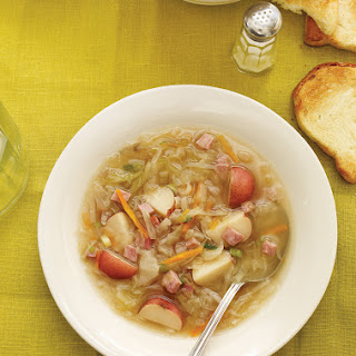 Cabbage and Ham Soup.