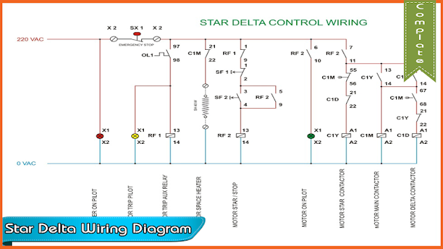 Download Star delta wiring diagram by RutoApps APK latest version ...