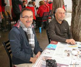 Photo: Kahvaltı molası Priene Z Yolu - KURŞUNLU Manastırı - Radon Termal Faaliyeti - 26.10.2014