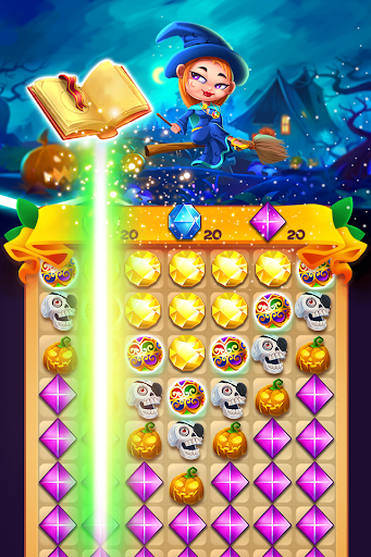 Witch Jewel Puzzle 1.0 screenshots 1