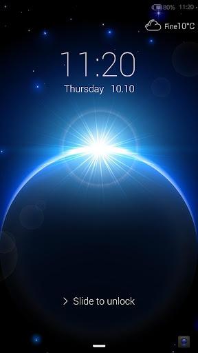 Halo of Light- iDO Lockscreen