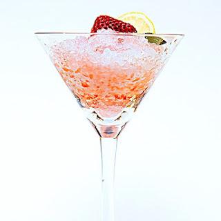 Strawberry Limoncello Snow Cone.