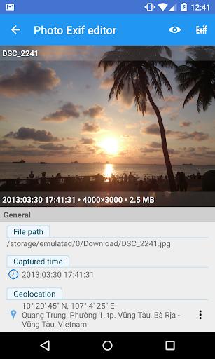 Photo Exif Editor - Metadata Editor 2.2.9 screenshots 4
