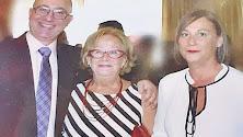 María Molina, con sus hijos Diego y María del Mar.