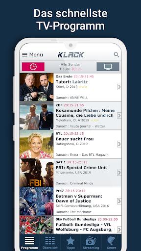 KLACK Fernseh- & TV-Programm 1.18.8 screenshots 1
