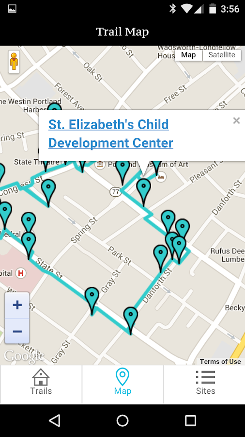 Portland Women's History Trail- screenshot