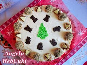 Photo: Tejszínes karácsonyi torta  http://angelawebcuki.blogspot.hu/2014/12/tejszines-karacsonyi-torta.html