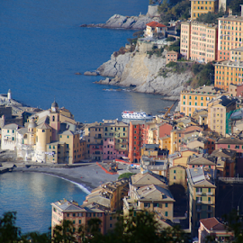 by Felice Bellini - City,  Street & Park  Vistas ( camogli )