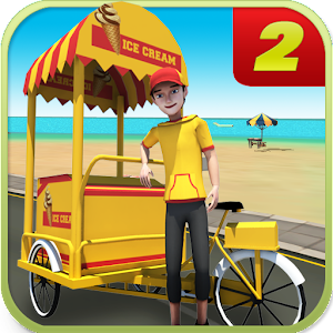 Beach Ice Cream Delivery 2 for PC and MAC