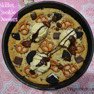 Chocolate Chip Cookie Skillet Dessert