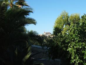 Photo: Blick auf die Pfarrkirche von Santa Margalida  ( siehe auch www.es-coscois.de )